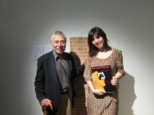 "Mr Henry Steiner and his book ""Cross Cultural Design"" ~ a lovely gift!"